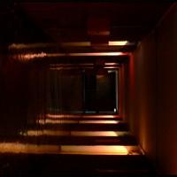 Corbusier-Couloir aux couleurs